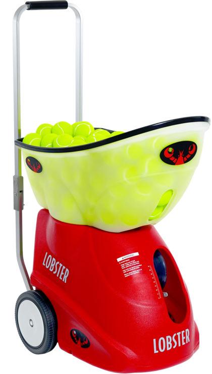 lobster sports tennis ball machine